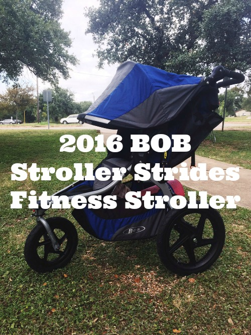 BOB 2016 Stroller Strides Fitness Stroller Review